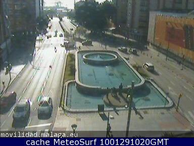 webcam Paseo Antonio Machado Malaga