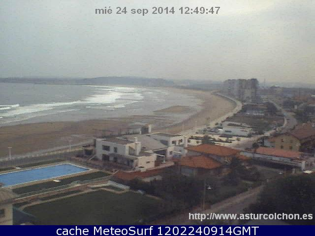 webcam Playa de Salinas Castrillon