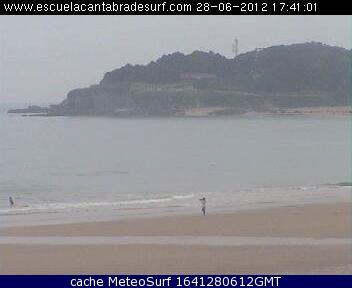 webcam Playa de Somo Cantabria