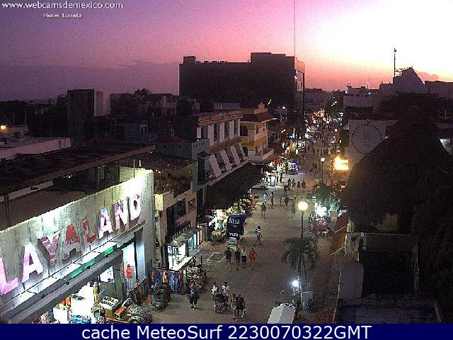 webcam Playa del Carmen Solidaridad