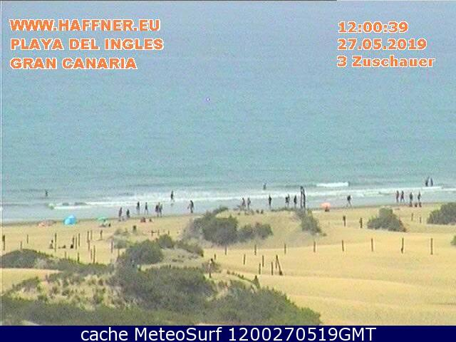 webcam Playa del Ingles Las Palmas