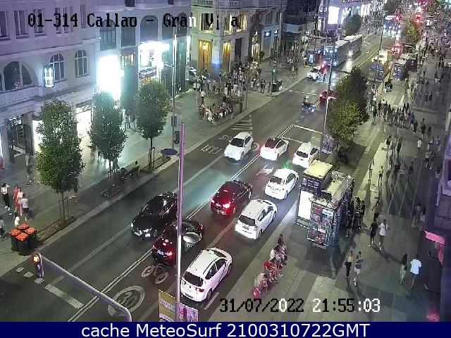 webcam Madrid Ciudad Ciudad de Madrid