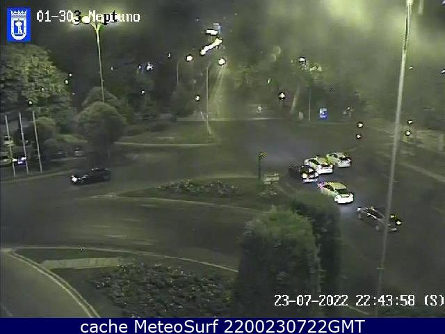 webcam Plaza Neptuno Ciudad de Madrid