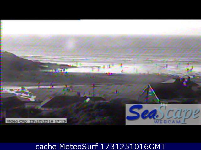 webcam Polzeath Beach Cornwall