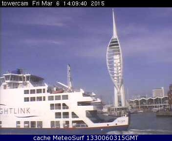 webcam Portsmouth Spinnaker Tower Hampshire