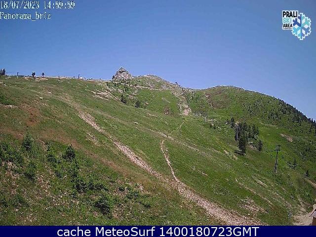 webcam Capannina Prali Ski Turín