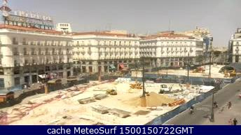 webcam Puerta del Sol Madrid Ciudad de Madrid