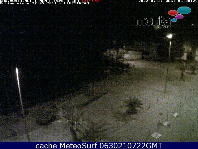 webcam Puerto Naos Santa Cruz de Tenerife