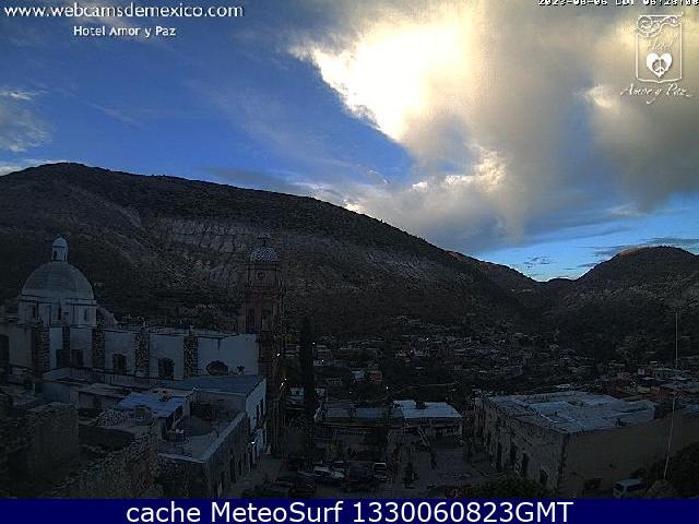 webcam Real de Catorce Hotel Catorce