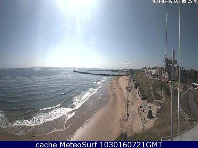 webcam Roker Beach Sunderland North East
