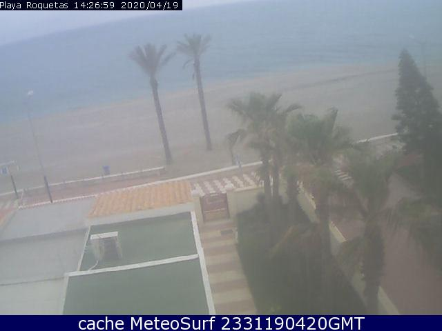 webcam Roquetas de Mar Almeria