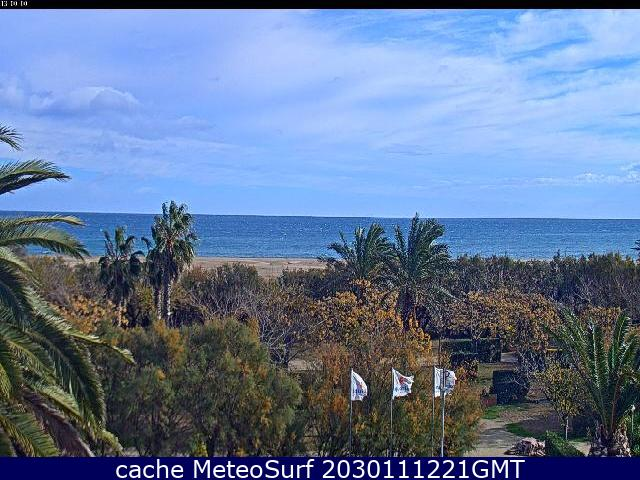 webcam Sant Pere Pescador Gerona