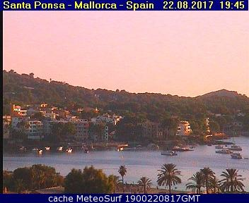 webcam Santa Ponsa Islas Baleares