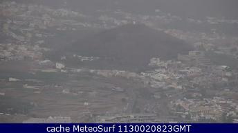 webcam Santa Ursula Santa Cruz de Tenerife