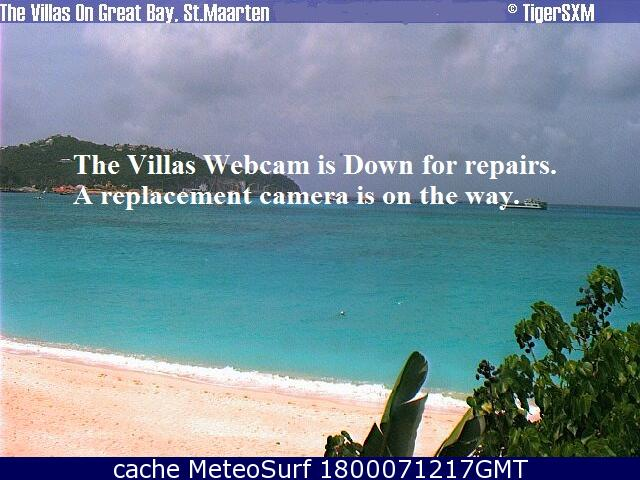 webcam Saint Martin Pelican Dutch side Antillas Holandesas