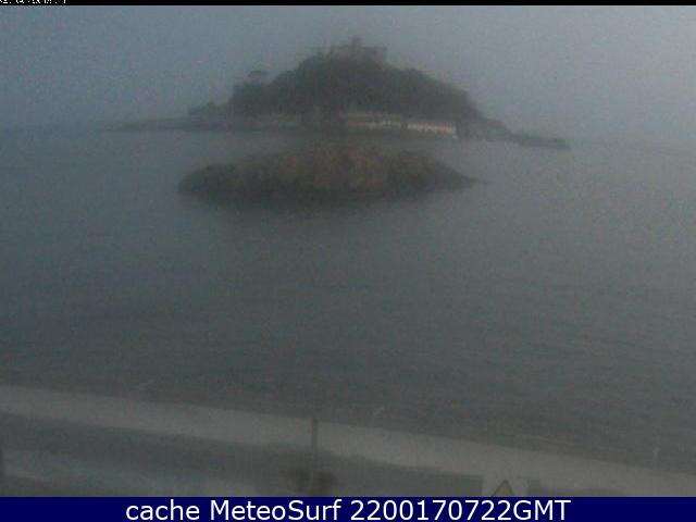 webcam St Michaels Mount Mounts Bay South West