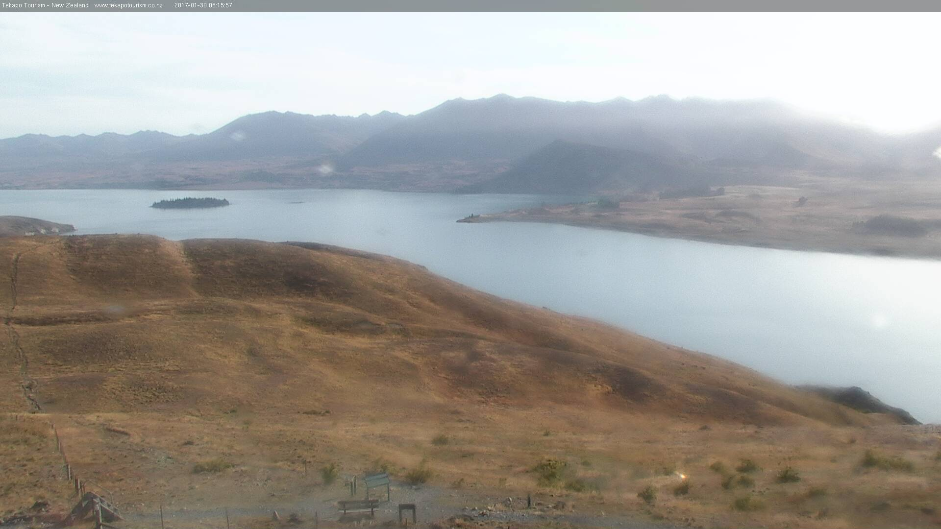 webcam Lake Tekapo Tekapo