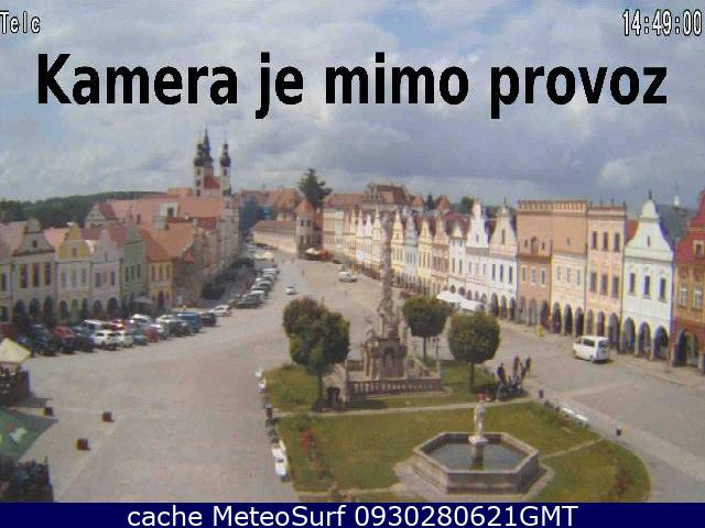 webcam Telc Jihlava