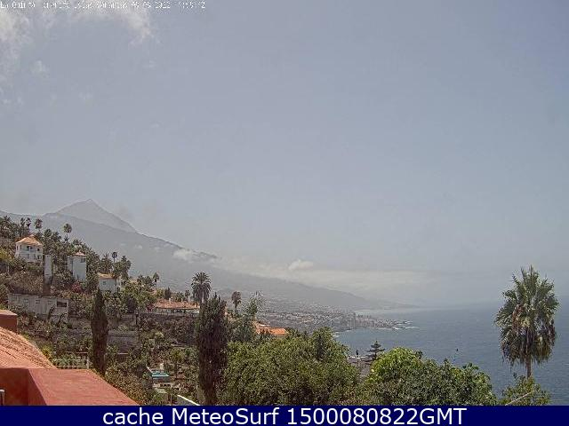 webcam La Quinta Puerto de la Cruz Santa Cruz de Tenerife