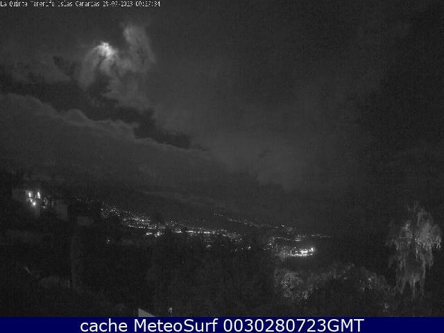 webcam La Quinta Puerto de la Cruz Santa Cruz de Tenerife
