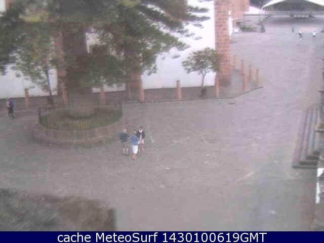 webcam Teror Ayuntamiento Las Palmas