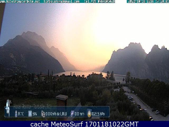 webcam Hotel Roma Torbole Sul Garda Trento