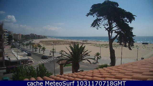 webcam Torredembarra Baix a Mar Tarragona