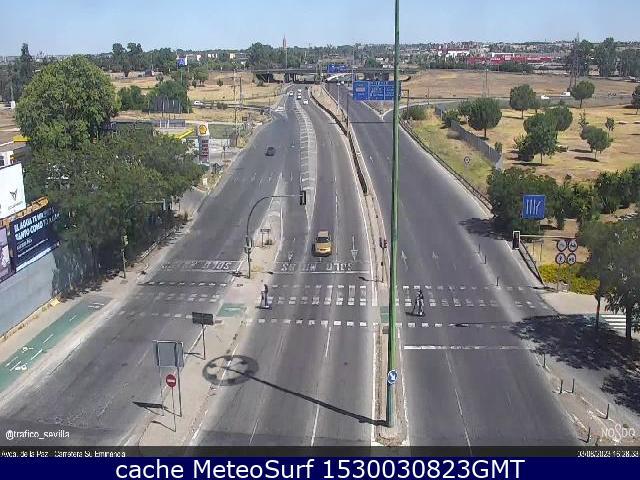 webcam Avenida de la Paz Carretera Su Eminencia Sevilla