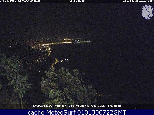 webcam Trieste Panoramica Trieste