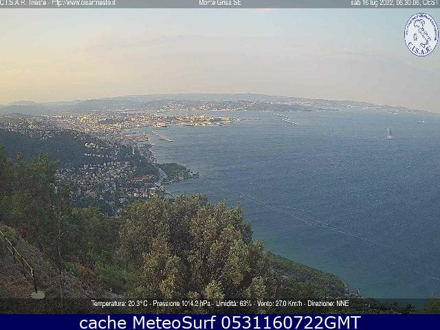 webcam Trieste Panoramica Trieste