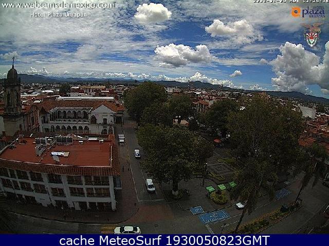 webcam Uruapan Centro Ciudad Uruapan