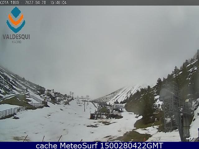 webcam Valdesqui Sierra Norte