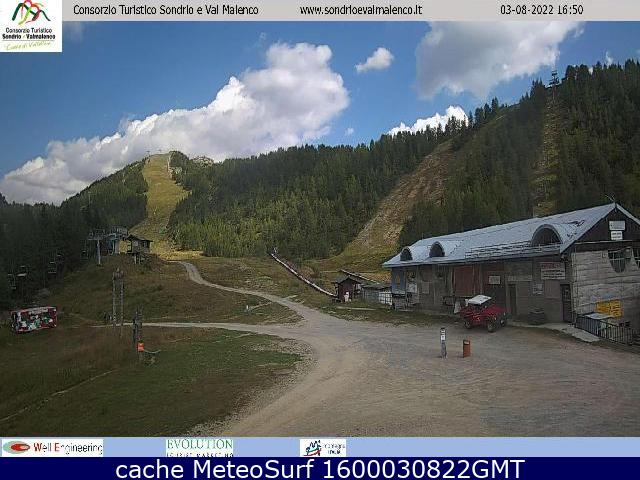 webcam Chiesa in Valmalenco Sondrio