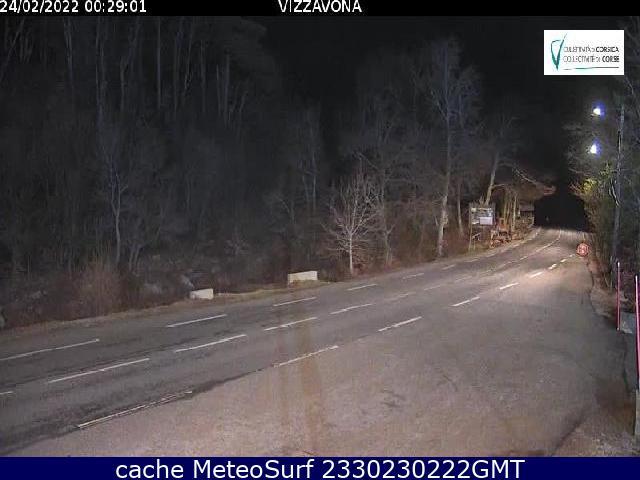 webcam Col de Vizzavona Haute-Corse