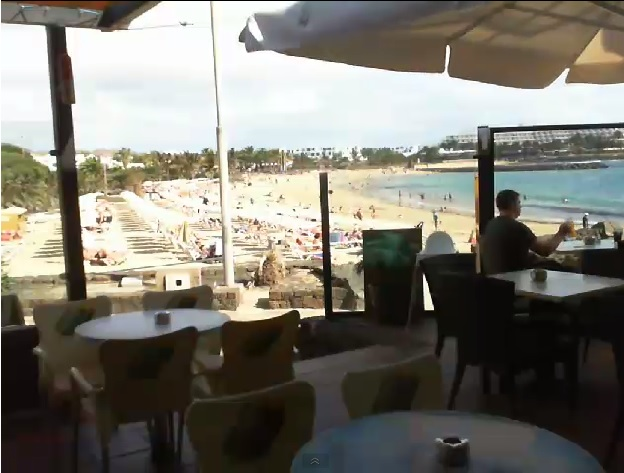 webcam Las Cucharas Costa Teguise Las Palmas