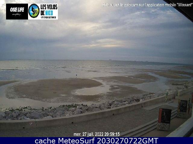 webcam Wissant Surf Pas de Calais