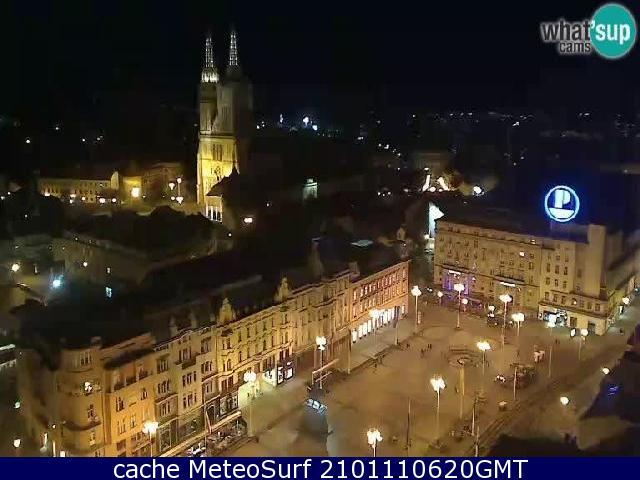 webcam Zagreb Cathedral Zagreb