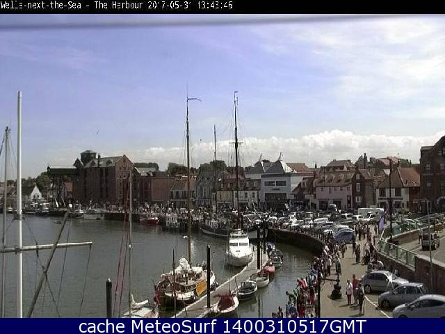 webcam Wells-next-the-Sea East of England