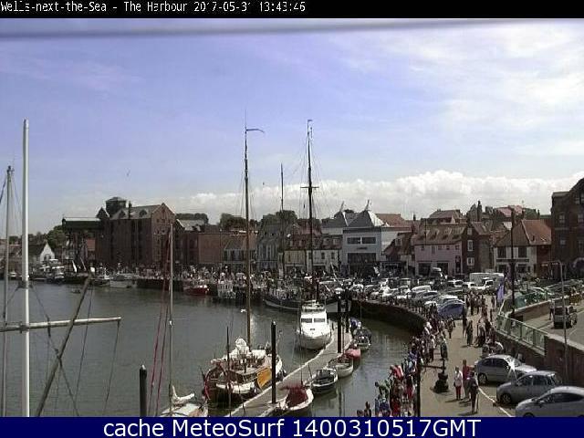 webcam Wells-next-the-Sea East of England