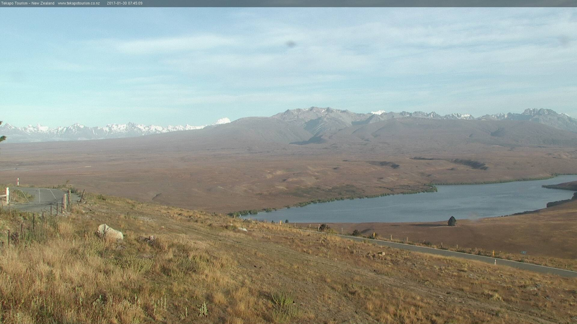 webcam Lake Tekapo W Tekapo