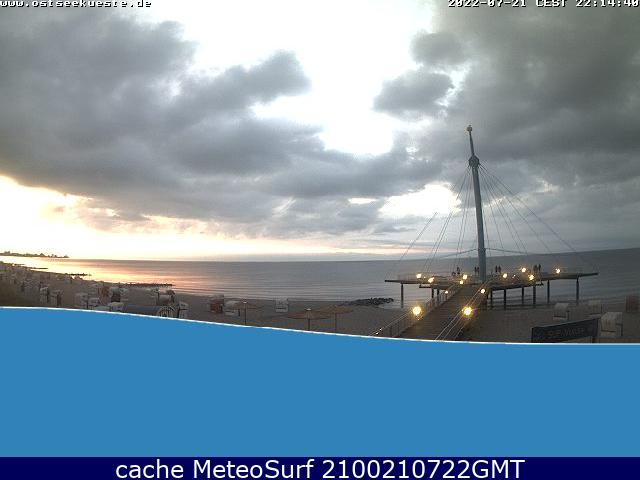 webcam Hohwacht Pl�n