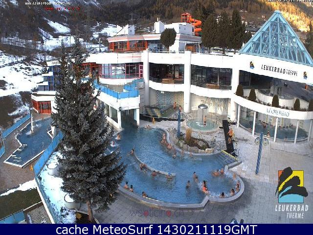 webcam Leukerbad Therme Leuk