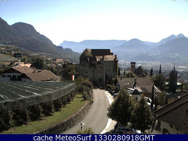 webcam Schenna Centro Bolzano