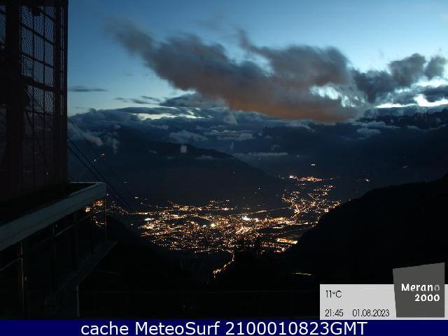 webcam Sudtirol Meran Bolzano