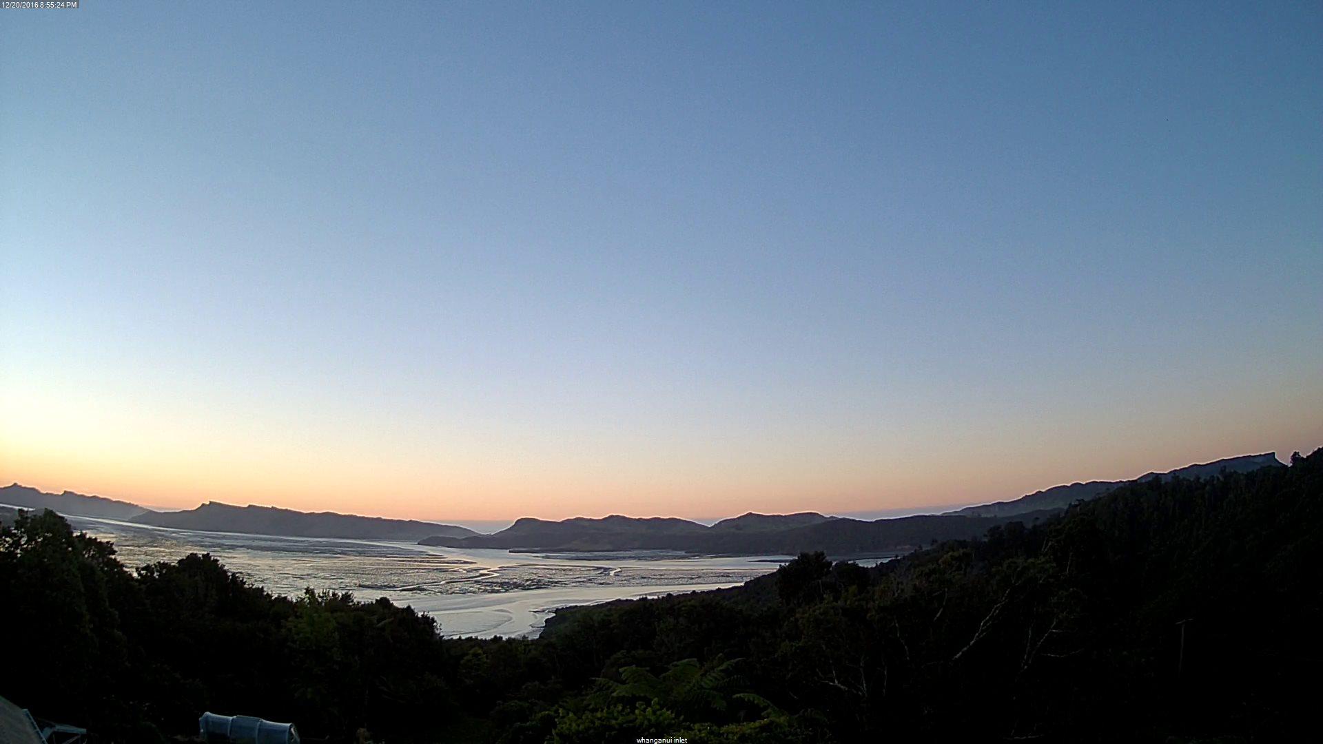 webcam Whanganui Inlet Tasman
