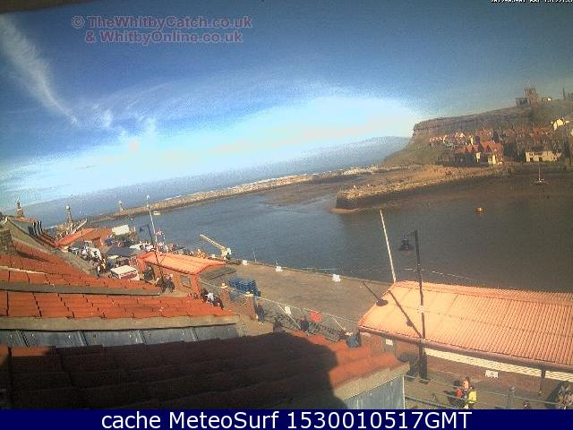 webcam Whitby Yorkshire and the Humber