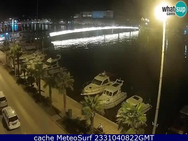 webcam Zadar Dalmatia