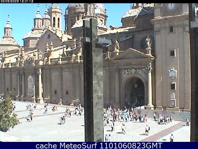 webcam Zaragoza Plaza del Pilar Zaragoza