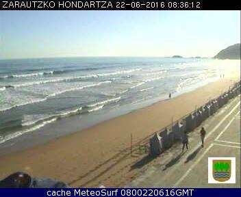 webcam Zarautz Guip�zcoa