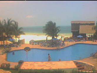 webcam Cancun Benito Ju�rez